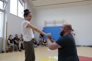 OVIGO-Impro mit Lena Biegerl & Michael Sandner
