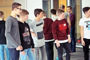 Tag des Ehrenamts 2018, Workshop Realschule Nabburg