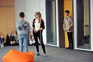 Impro in der Realschule Nabburg / Ehrenamttag 2018