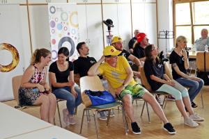 OVIGO-Impro für eine Behindertengruppe aus Waldsassen