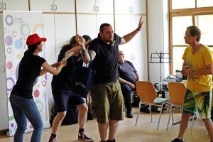 Impro für Behindertengruppe aus Waldsassen