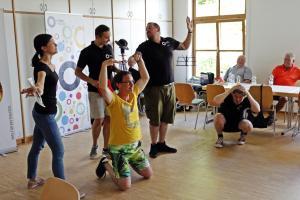 Impro für eine Behindertengruppe aus Waldsassen (OVIGO 2018)
