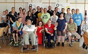 OVIGO-Impro mit Behindertengruppe aus Waldsassen
