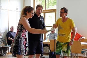 Impro / für Behindertengruppe Waldsassen