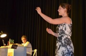 "OVIGO Theater (2013), ""Jakes Frauen"", Julia Ruhland und Florian Waldherr"
