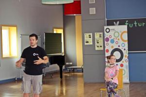 Projekttag Eisenbarth-Grundschule Oberviechtach, OVIGO macht Schule
