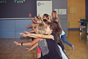 Workshop in der Grundschule Oberviechtach (OVIGO Theater)