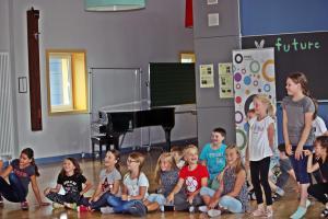 Projekttag Eisenbarth-Grundschule Oberviechtach, OVIGO macht Schule, 2018