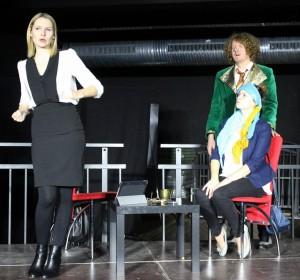 """Lampedusa"" mit Julia Gruber, Michael Zanner, Janina Dötterl"