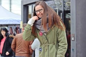 Theresa Weidhas als Impro-Leiterin (Schwarzachtalmesse Neunburg)