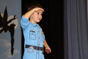 """Ben Bauer als Michael in """"Peter Pan"""""""
