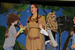 "Paula Klepser als Tigerlilly (""Peter Pan"", OVIGO)"
