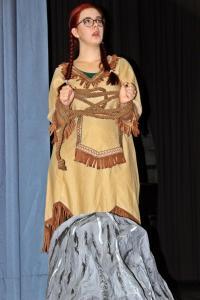 "Paula Klepser als Tigerlilly (""Peter Pan"")"