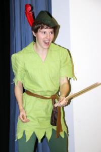 Theresa Weidhas als Peter Pan (OVIGO, 2017)