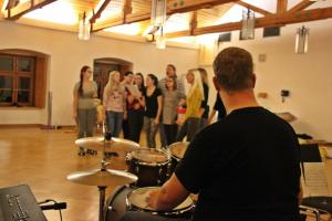 "Live-Band Proben / ""Peter Pan"""
