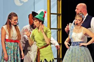 "Sarah Ebnet in ""Peter Pan"" / OVIGO Theater"