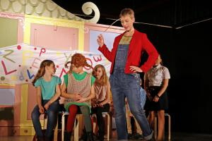 """Pippi Langstrumpf"", Sofia Mindel, OVIGO Theater"