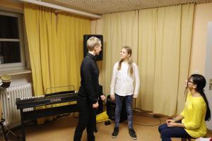 """Probe für """"Pippi Langstrumpf"""" (OVIGO Theater 2018)"""