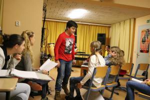 """Pippi Langstrumpf"" (Probe), OVIGO Theater"