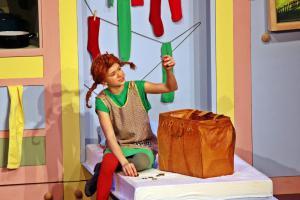 """Pippi Langstrumpf"", Ursensollen, OVIGO Theater"