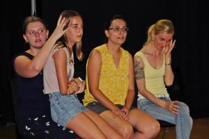 OVIGO-Impro mit Katrin Deyerl (2. von rechts)