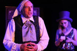 """Scrooge"" mit Bernhard Zellner, OVIGO Theater"