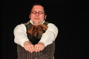 """Scrooge"" / André Gießübl / OVIGO Theater / 2018"