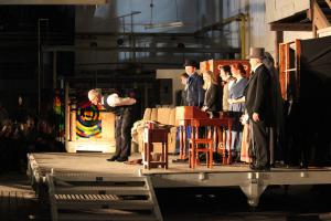 """Scrooge"" in Waldsassen, OVIGO Theater, Bernhard Zellner"