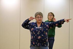 Renate Bauer, OVIGO Theater-Training (2019)