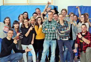 Oktober 2018: Die Bundesfreiwilligen Michael und Katja beginnen