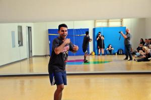 Theater-Training mit Junaid Bajauri