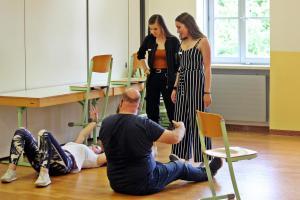 Theresia Igl, OVIGO Theater-Training, 2019