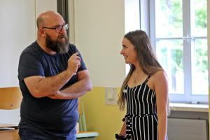 OVIGO Theater-Training 2019, mit Sabrina Zach