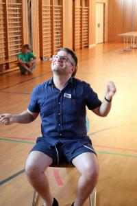 OVIGO Theater-Training mit Roman Fuchs