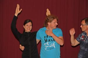 Theater-Training in Waldmünchen (OVIGO, 2018)
