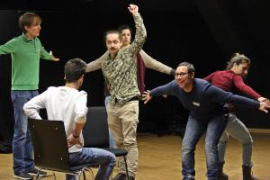 Enis Somrani, OVIGO Theater, Workshop