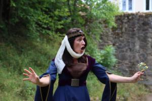 OVIGO Theater Zeitreise, Burg Murach, Petra Sommer-Stark