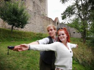 Bundesfreiwillige Daniel Adler & Ingrid Schramm, OVIGO Theater