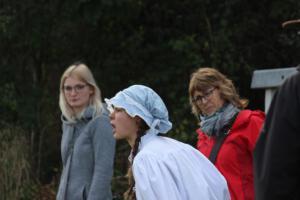 OVIGO Zeitreise, mit Ilona Glück (rechts)