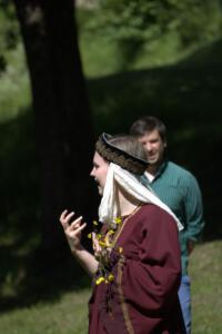 Sarah Ebnet, Zeitreise Burg Murach, OVIGO Theater