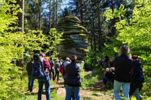 OVIGO Theater Zeitreise, Durch den Grenzwald zu den Granitriesen