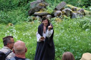 Zeitreise zur Burg Schellenberg, OVIGO 2021, Florian Wein