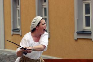 Rita Heindl, Zeitreise Burg Thanstein, OVIGO Theater