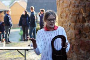 Lena Borowski, OVIGO Zeitreise, Burg Thanstein
