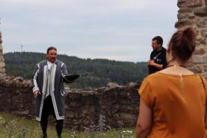 OVIGO Theater Zeitreise, Burg Murach, Bernhard Neumann