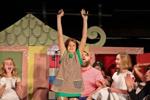 Lena Borowski ist Pippi Langstrumpf (OVIGO Theater)