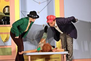"""Pippi Langstrumpf"" Musical, Junaid Bajauri, OVIGO Theater"